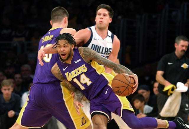 Brandon Ingram, Ivica Zubac, Los Angeles Lakers