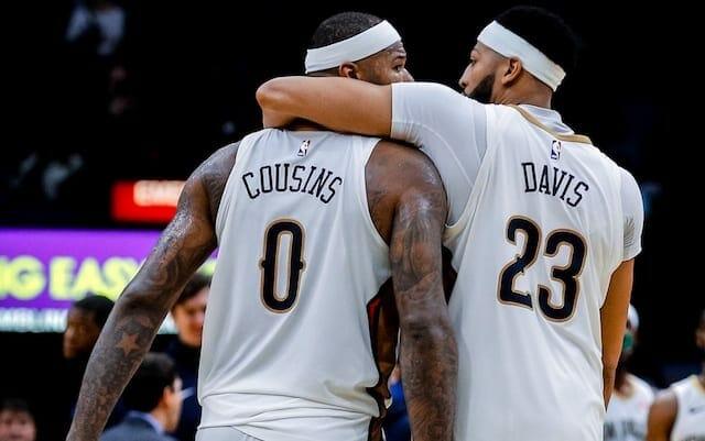 DeMarcus Cousins, Anthony Davis, Lakers