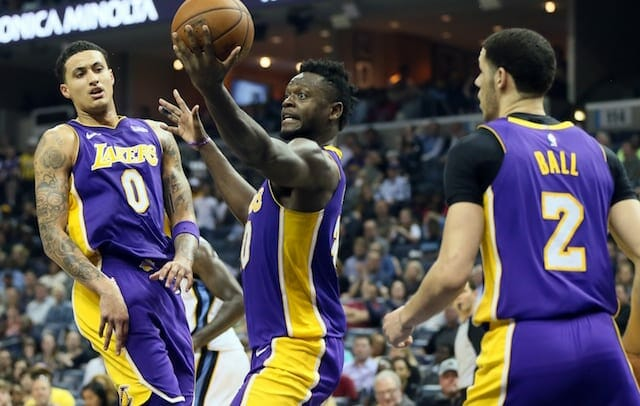 Lonzo Ball, Kyle Kuzma, Julius Randle, Lakers