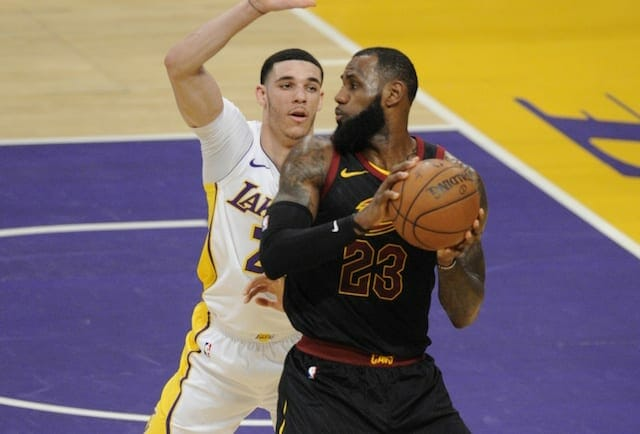 Lonzo Ball, LeBron James, Lakers