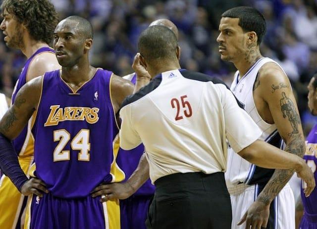 Matt Barnes, Kobe Bryant, Lakers