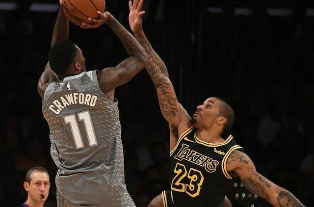 Jamal Crawford, Lakers