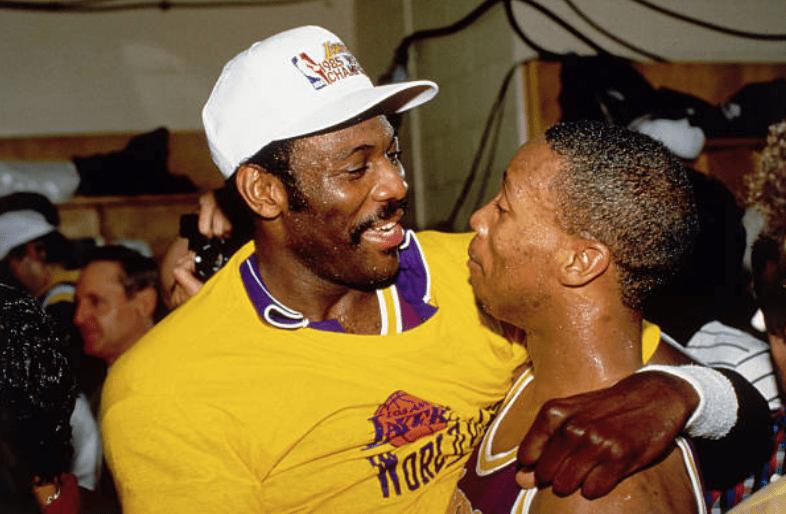 Bob McAdoo, Byron Scott, Lakers