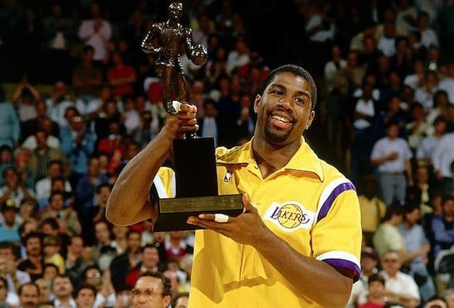 Magic Johnson, Los Angeles Lakers, NBA MVP
