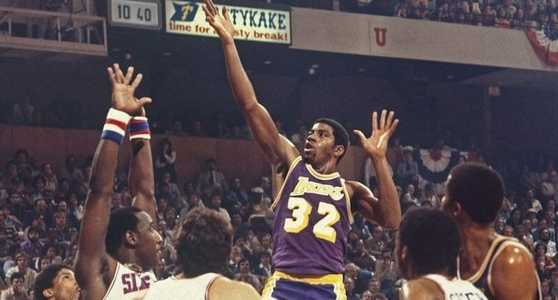 Magic Johnson, 1980 NBA Finals