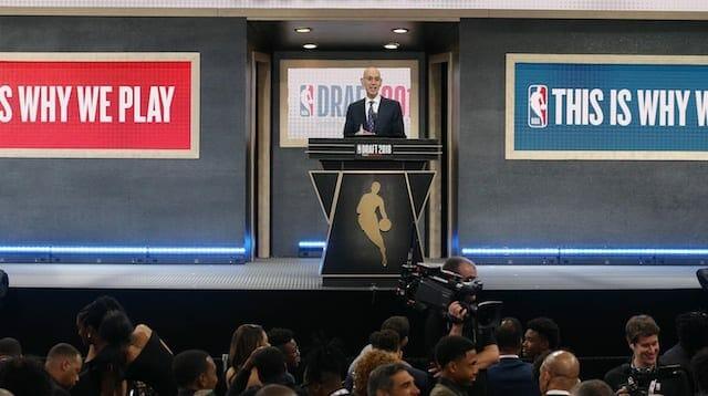 Adam Silver, 2018 NBA Draft