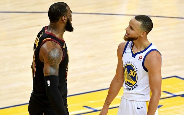 Stephen Curry, LeBron James, Warriors, Lakers