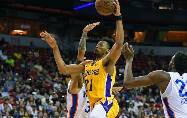 Jonathan Williams, Lakers