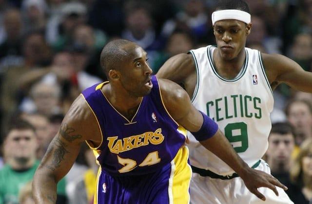 Kobe Bryant, Rajon Rondo, Lakers