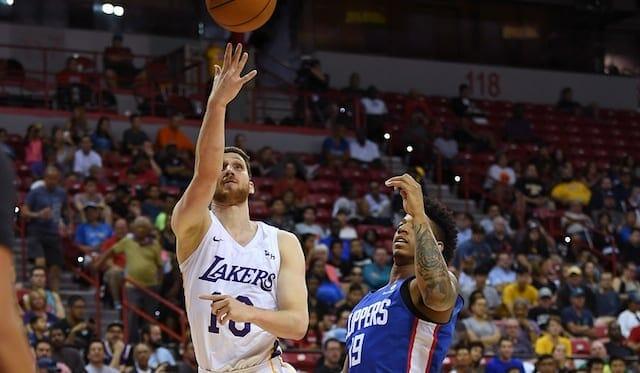 Sviatoslav Mykhailiuk, Los Angeles Lakers