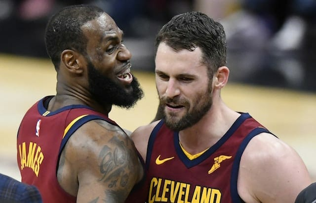 LeBron James, Kevin Love, Cavaliers, Lakers