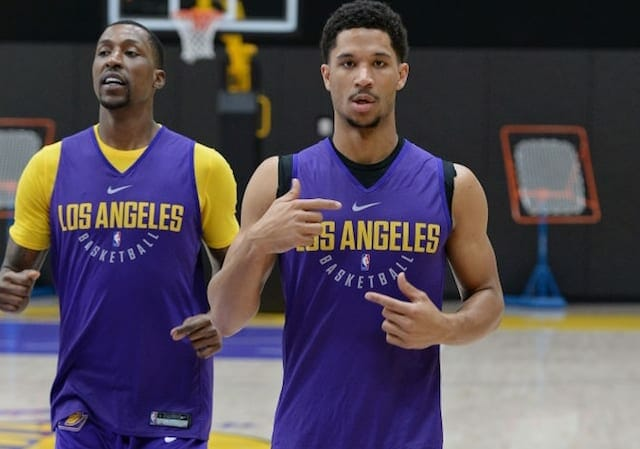 Kentavious Caldwell-Pope, Josh Hart, Los Angeles Lakers