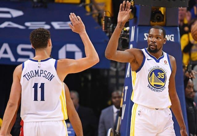Kevin Durant, Klay Thompson, Lakers