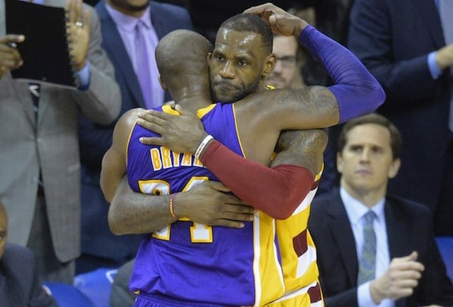 Kobe Bryant, LeBron James, Lakers