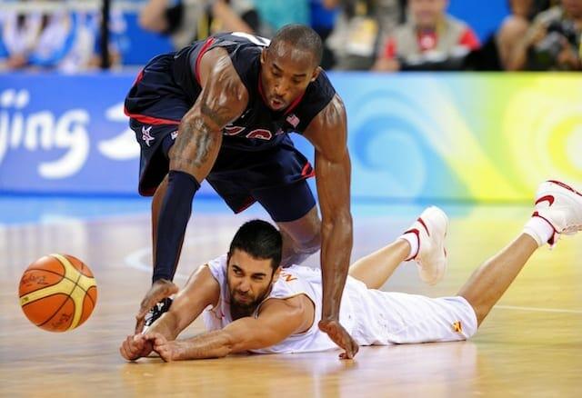 Kobe Bryant, USA Basketball