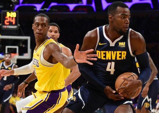 Josh Hart, Rajon Rondo, Lakers