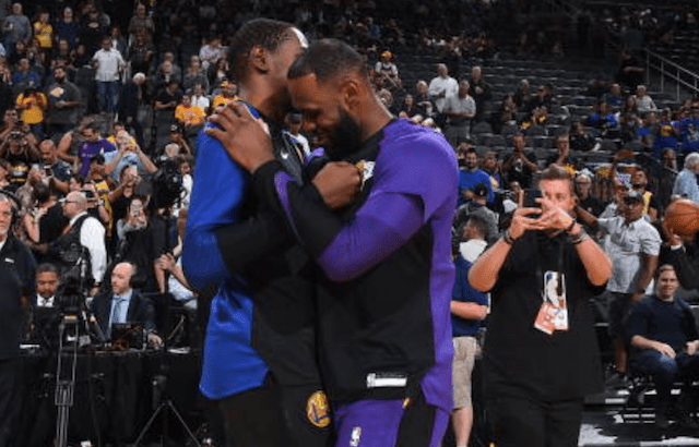 Kevin Durant, LeBron James, Lakers