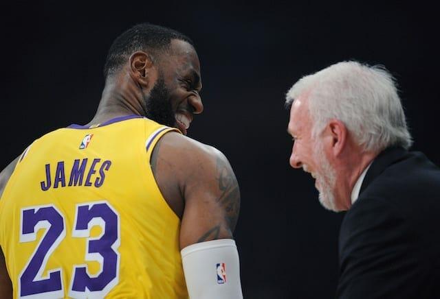 LeBron James, Gregg Popovich, Lakers