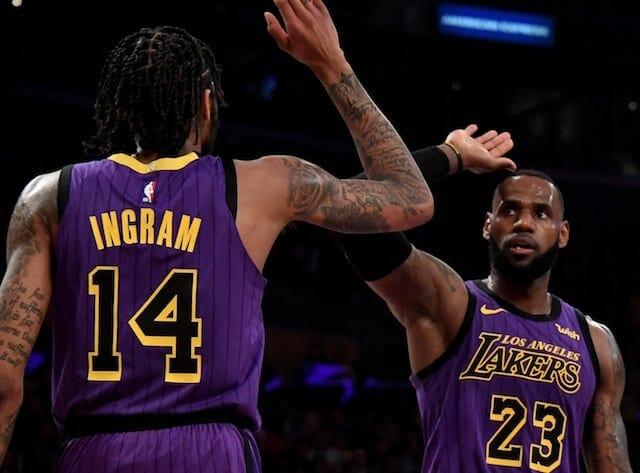 Brandon Ingram, LeBron James, Lakers