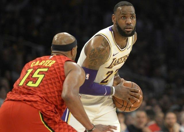 LeBron James, Lakers, Hawks