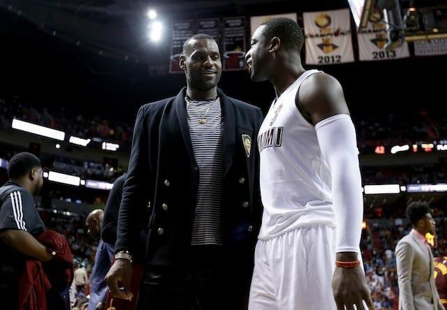 LeBron James, Dwyane Wade, Lakers, Heat