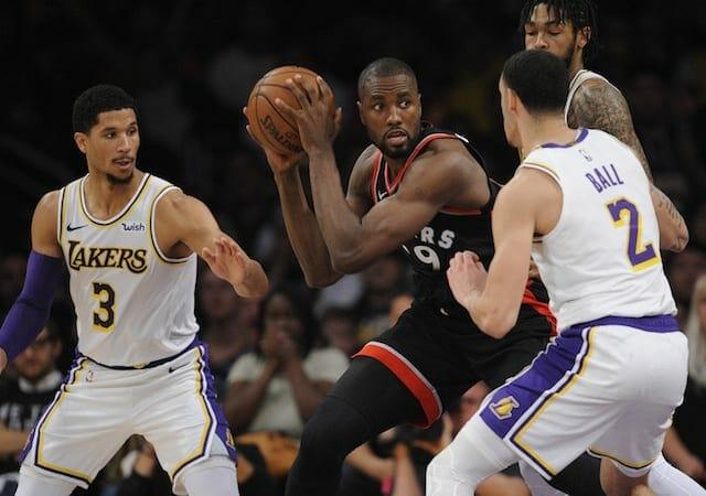 Lonzo Ball, Josh Hart, Brandon Ingram, Lakers