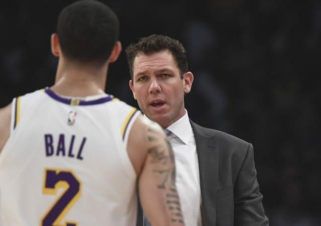 Lonzo Ball, Luke Walton, Lakers