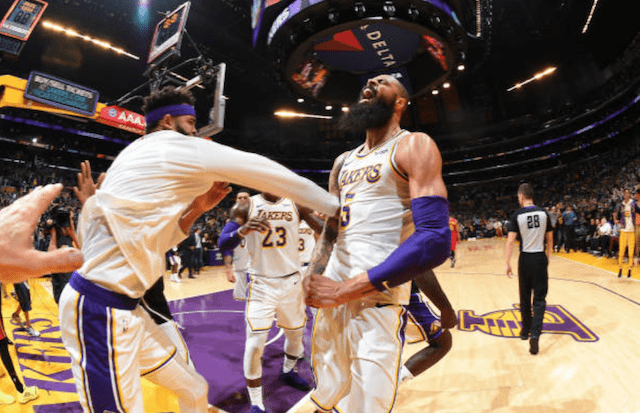 Tyson Chandler, JaVale McGee, Lakers
