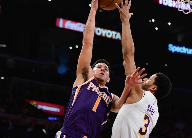 Josh Hart, Lakers, Suns