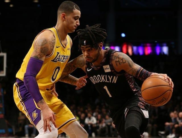 Kyle Kuzma, Lakers, Nets, D'Angelo Russell