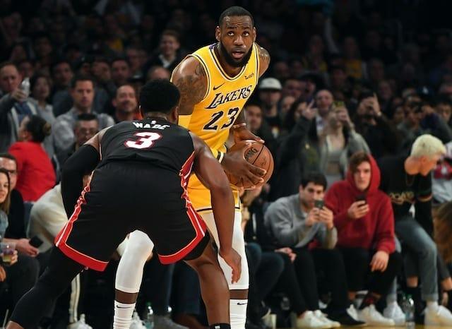 LeBron James, Dwyane Wade, Lakers