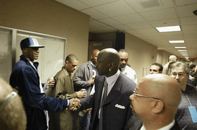 LeBron James, Michael Jordan, Lakers