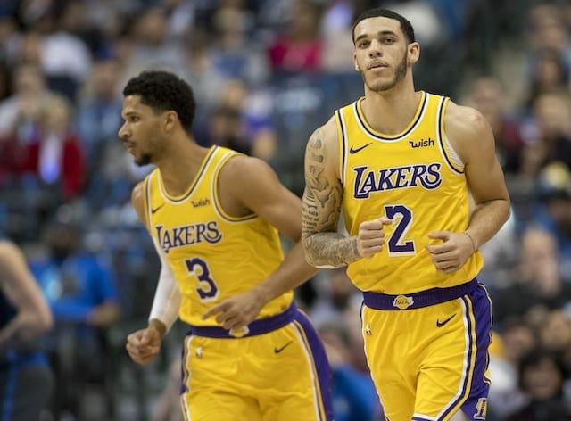 Lonzo Ball, Josh Hart, Lakers