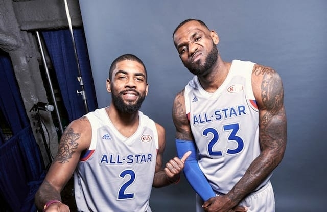 Kyrie Irving, LeBron James, Lakers