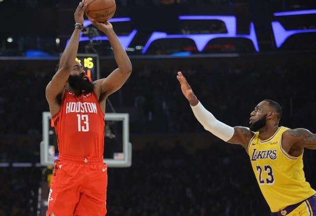LeBron James, James Harden, Lakers