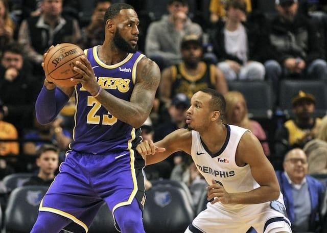Avery Bradley, Lakers, Grizzlies