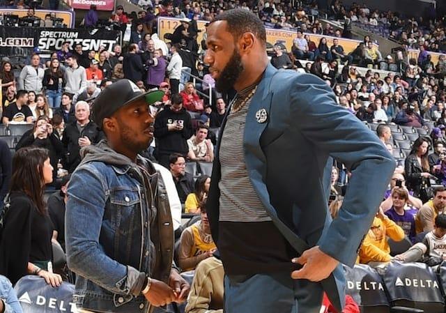 LeBron James, Rich Paul, Lakers