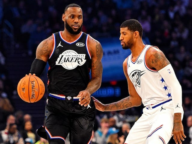 Paul George, LeBron James, Lakers, Clippers