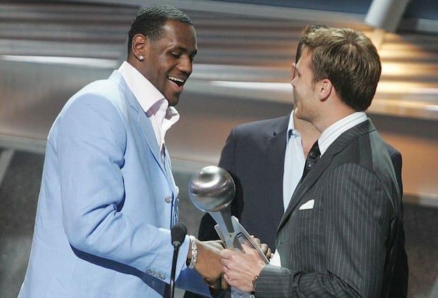 Tom Brady, LeBron James, Lakers, Apple
