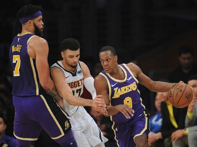 Lakers, JaVale McGee, Rajon Rondo