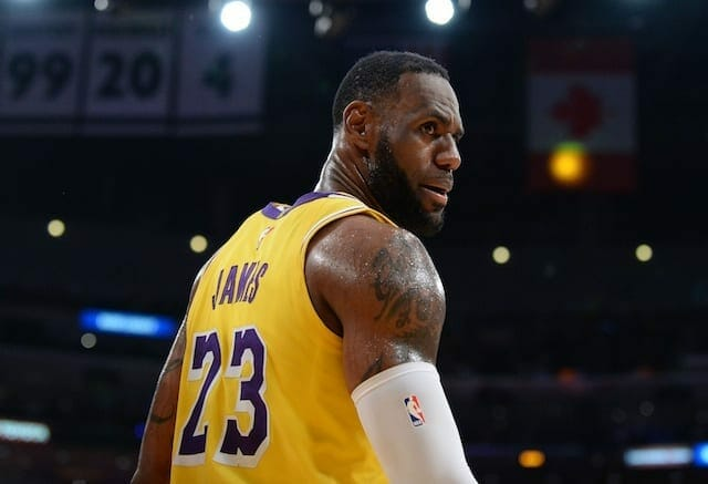 2019-20 Lakers Jersey Numbers: LeBron James, Anthony Davis ...