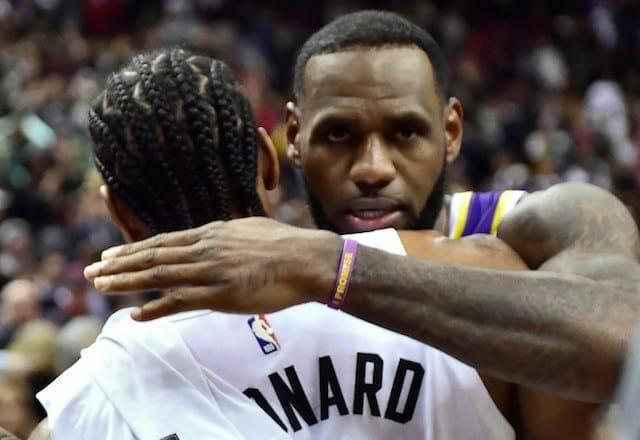 LeBron James, Kawhi Leonard, Lakers,