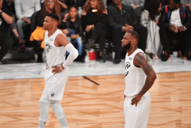 LeBron James, Russell Westbrook, Lakers