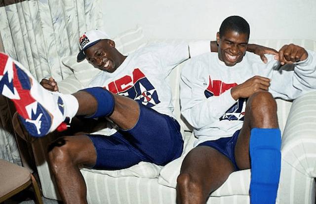Magic Johnson, Michael Jordan, Dream Team