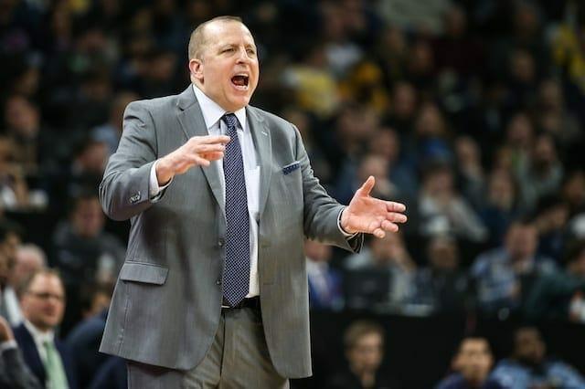 Tom Thibodeau, Lakers