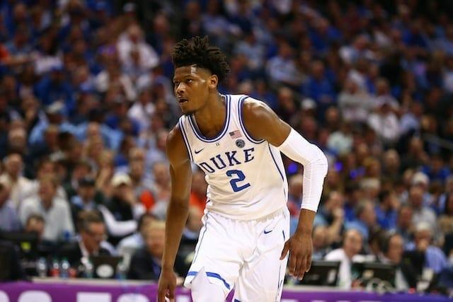 Lakers 2019 Nba Draft Prospect Profile: Cam Reddish, Duke
