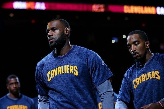 LeBron James, JR Smith, Lakers