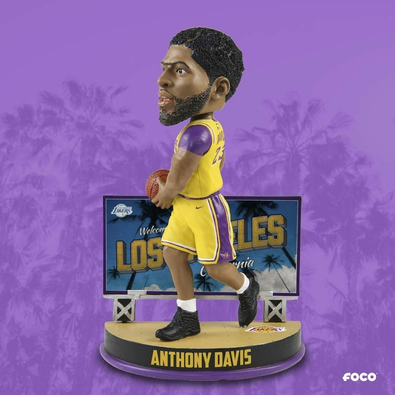 Lakers News: Anthony Davis Bobblehead Part Of Foco's Nba Billboard Series