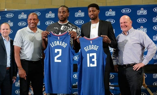 Kawhi Leonard, Paul George, Clippers, Lakers
