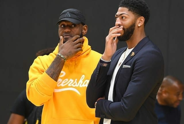 Anthony Davis, Lakers, LeBron James